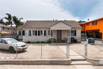 Oxnard Multi Family Home Active Under Contract: 416 Hill Street