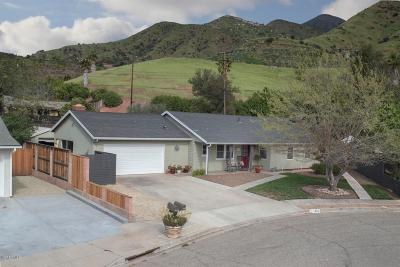 Ojai Single Family Home Active Under Contract: 1303 Sunset Place
