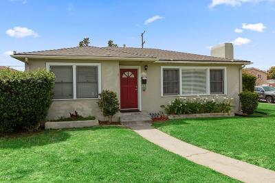 Oxnard Single Family Home For Sale: 514 W Roderick Avenue
