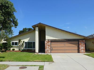Oxnard Single Family Home Active Under Contract: 3041 Jacktar Avenue