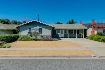 ventura Single Family Home For Sale: 1297 Winford Avenue
