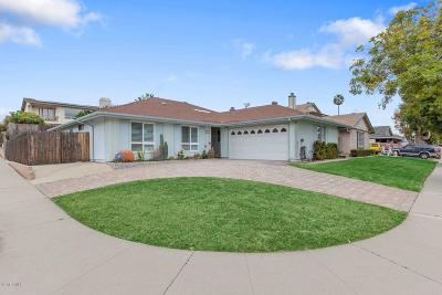ventura Single Family Home For Sale: 9377 Santa Maria Street