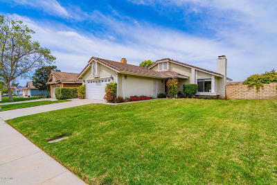 Moorpark Single Family Home Active Under Contract: 12975 Sleepy Wind Street