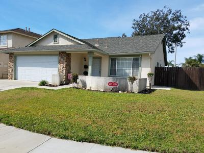 ventura Single Family Home For Sale: 1521 Lobelia Avenue