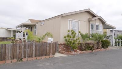 Oxnard CA Mobile Home Active Under Contract: $190,000