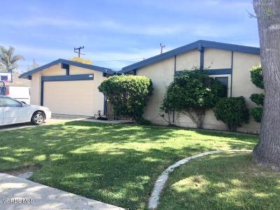 Oxnard Single Family Home For Sale: 1250 Fuchsia Street