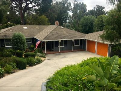 Camarillo Single Family Home Active Under Contract: 1518 Calle Aurora