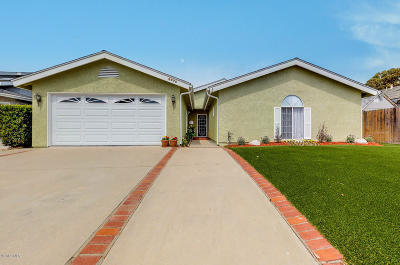 ventura Single Family Home For Sale: 6975 Swan Street