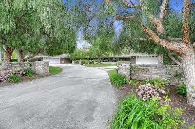 Camarillo Single Family Home For Sale: 1222 Fairway Drive