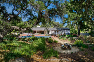 Ojai Single Family Home Active Under Contract: 621 Del Norte Road