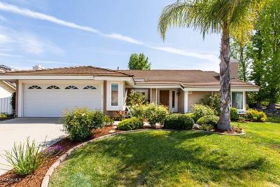 Thousand Oaks Single Family Home For Sale: 3454 Robin Hill Street