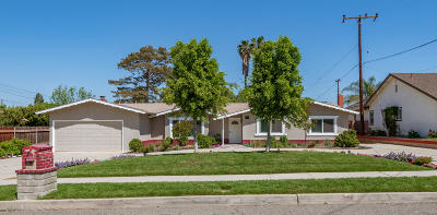 Simi Valley Single Family Home For Sale: 1330 El Monte Drive
