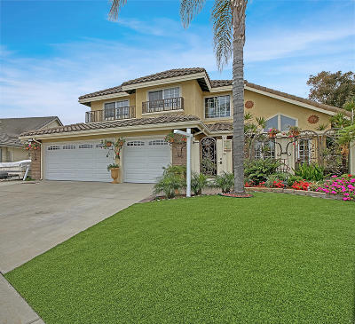 Oxnard Single Family Home For Sale: 2510 Uranium Drive