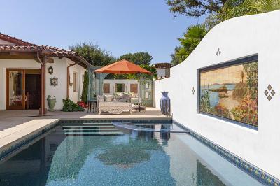 Santa Barbara Single Family Home For Sale: 956 Via Fruteria