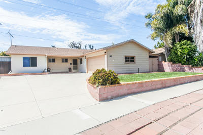Ventura Single Family Home Active Under Contract: 147 Hoover Avenue