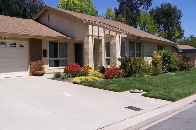 Ventura County Condo/Townhouse For Sale: 5160 Village 5