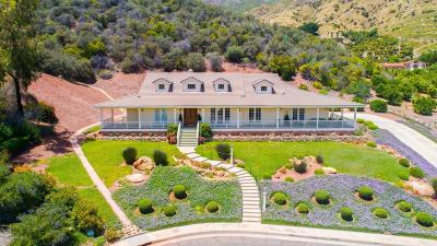 Ojai Single Family Home For Sale: 1436 Montgomery Street