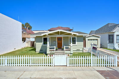 Ventura Single Family Home For Sale: 130 S Fir Street