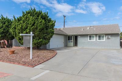 Camarillo Single Family Home For Sale: 863 Sharon Drive