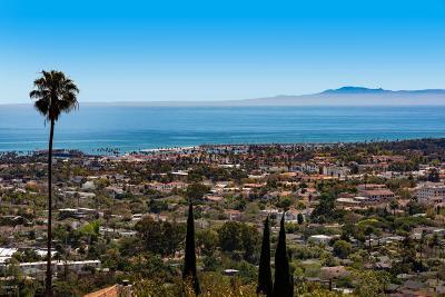 Santa Barbara Single Family Home For Sale: 1554 Alameda Padre Serra