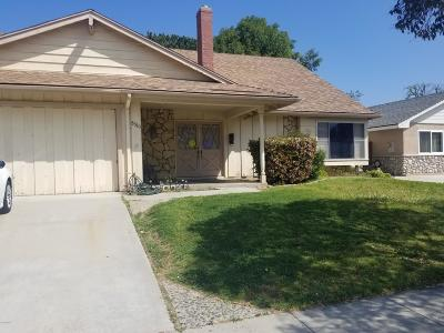Ventura Single Family Home For Sale: 8383 Eureka Street