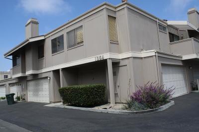 Ventura County Condo/Townhouse For Sale: 1364 San Simeon Court #1