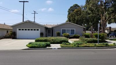 Ventura Single Family Home Active Under Contract: 301 Broderick Avenue