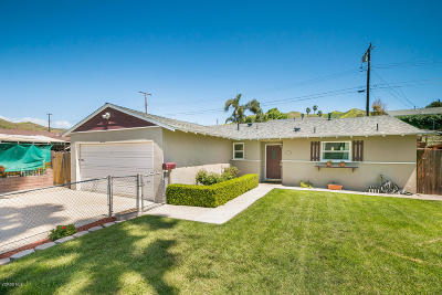 Ventura Single Family Home For Sale: 5260 Norway Drive