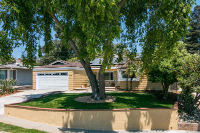Ventura Single Family Home For Sale: 308 Shamrock Drive