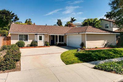 Ventura Single Family Home For Sale: 4085 Gettysburg Street