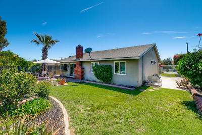 Ventura Single Family Home For Sale: 1304 Rubicon Avenue