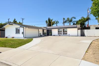Camarillo Single Family Home For Sale: 1591 Dapple Avenue