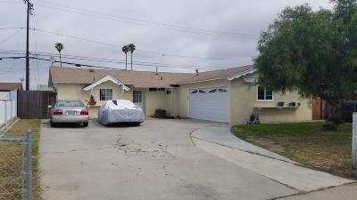 Oxnard Single Family Home For Sale: 949 Bryce Canyon Avenue