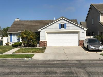 Oxnard Single Family Home For Sale: 744 Rosalinda Drive