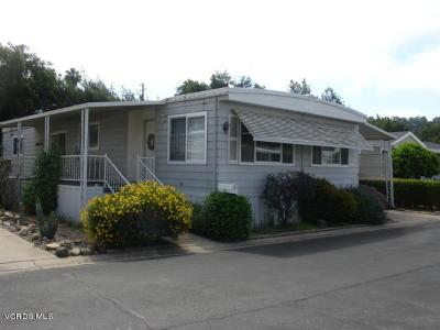 Ojai Mobile Home For Sale: 44 Don Antonio Way