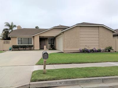 Oxnard Single Family Home Active Under Contract: 2710 Raft Lane