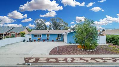 Ventura Single Family Home For Sale: 4790 Lafayette Street