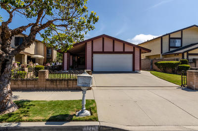 Oxnard Single Family Home Active Under Contract: 1120 Kipling Place