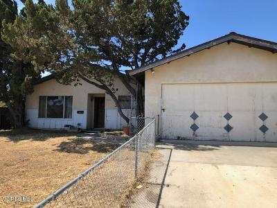 Ventura County Single Family Home Active Under Contract: 3331 Modoc Drive
