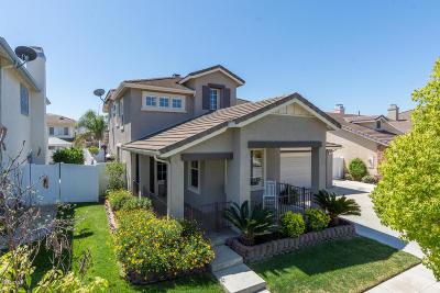 Fillmore Single Family Home Active Under Contract: 752 Santa Fe Street