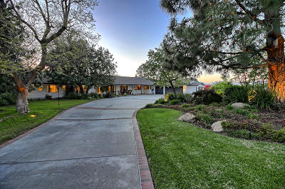 Thousand Oaks Single Family Home Active Under Contract: 2003 Oberlin Avenue