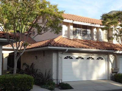 Camarillo Condo/Townhouse Active Under Contract: 858 Paseo Serenata