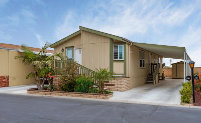 Oxnard Mobile Home Active Under Contract: 114 Diablo Way #52