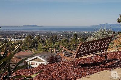Ventura County Residential Lots & Land For Sale: 931 Scenic Way Drive