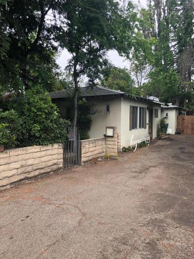 Thousand Oaks Multi Family Home Active Under Contract: 3063 Los Robles Road