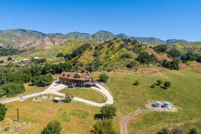 Santa Paula Multi Family Home For Sale: 7481 Wheeler Canyon Road