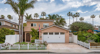 Ventura Single Family Home Active Under Contract: 2507 Pierpont Boulevard