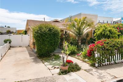 Ventura Single Family Home Active Under Contract: 52 E Vince Street