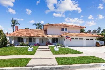 Thousand Oaks Single Family Home For Sale: 1817 Marlowe Street