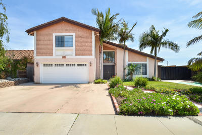 Ventura Single Family Home Active Under Contract: 6416 Curlew Place